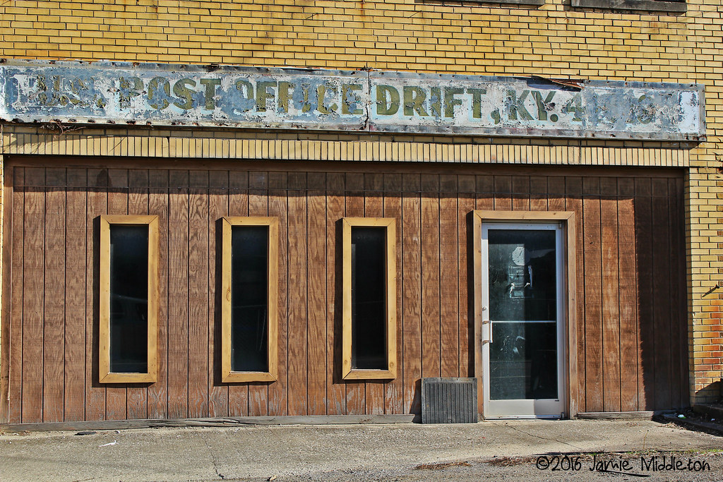 Former Post Office -- Drift, Kentucky