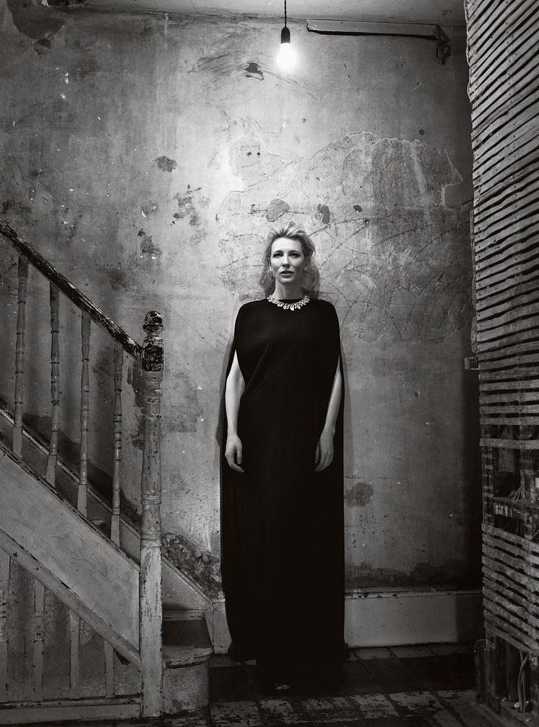 Кейт Бланшетт — Фотосессия для «Harper's Bazaar» UK 2015 – 4