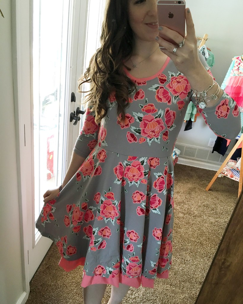 Marzipan Rose Dress