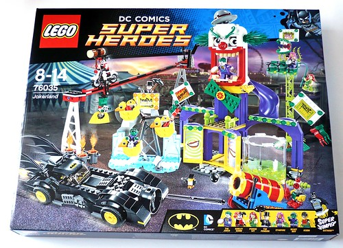 LEGO DC Superheroes 76035 Jokerland box 1