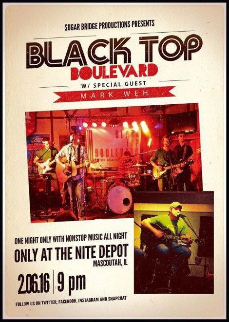 Black Top Boulevard 2-6-16