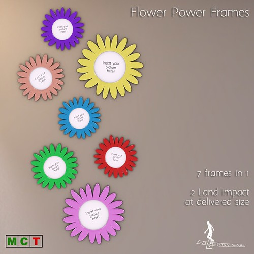 Flower Power Frames