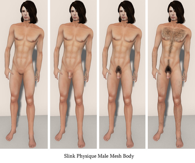 Slink Physique Male Mesh Body