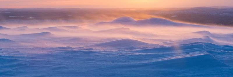 Snow storm - Äkäslompolo