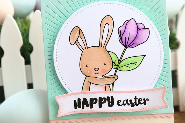 Easter bunny {just ME digital stamps}