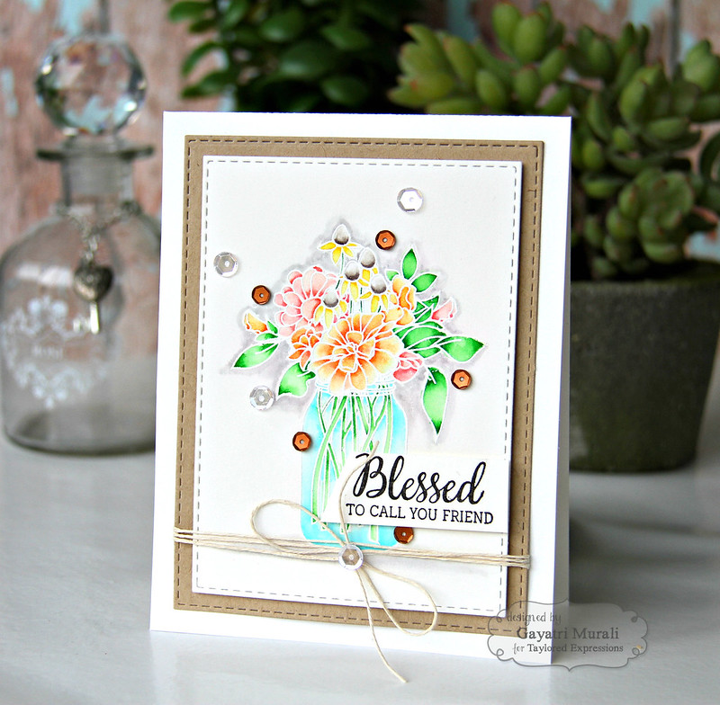 Blessed to you friend card #1