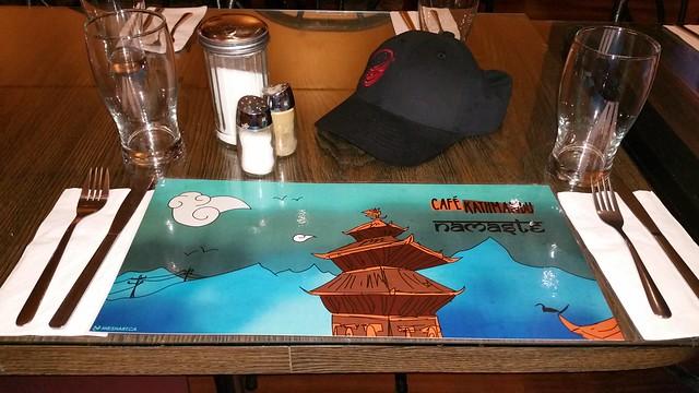 2016-Feb-17 Cafe Kathmandu - menu art