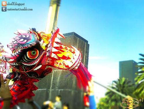 Danza del Dragón Chino