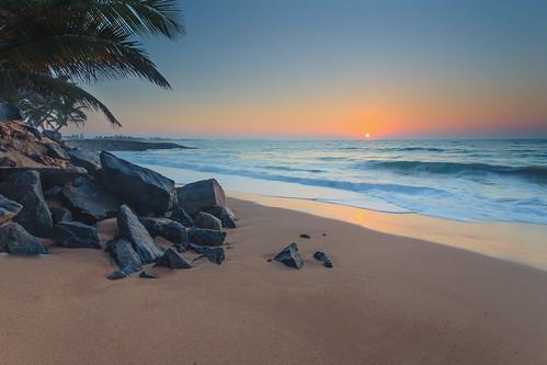 ocean holiday beach strand sommer urlaub srilanka sonne tangalle sunsrise