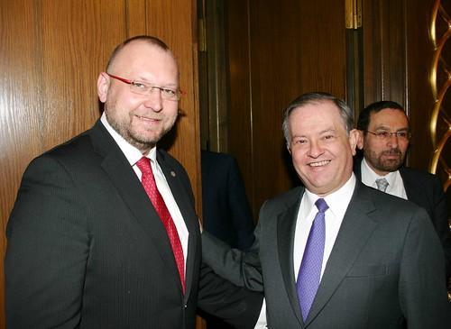 Reunión de trabajo con el Grupo de Amistad Interparlamentario México - República Checa