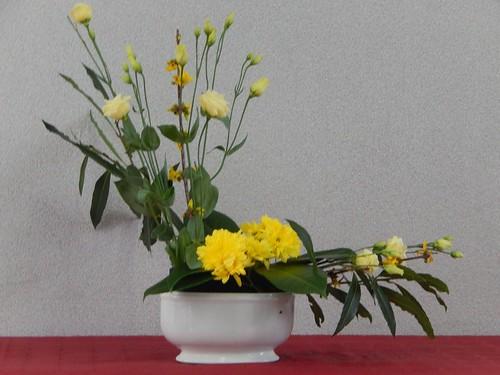Le bouquet ouvert