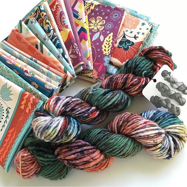 Fleet & Flourish inspired Yarn ~ Heather Bostic