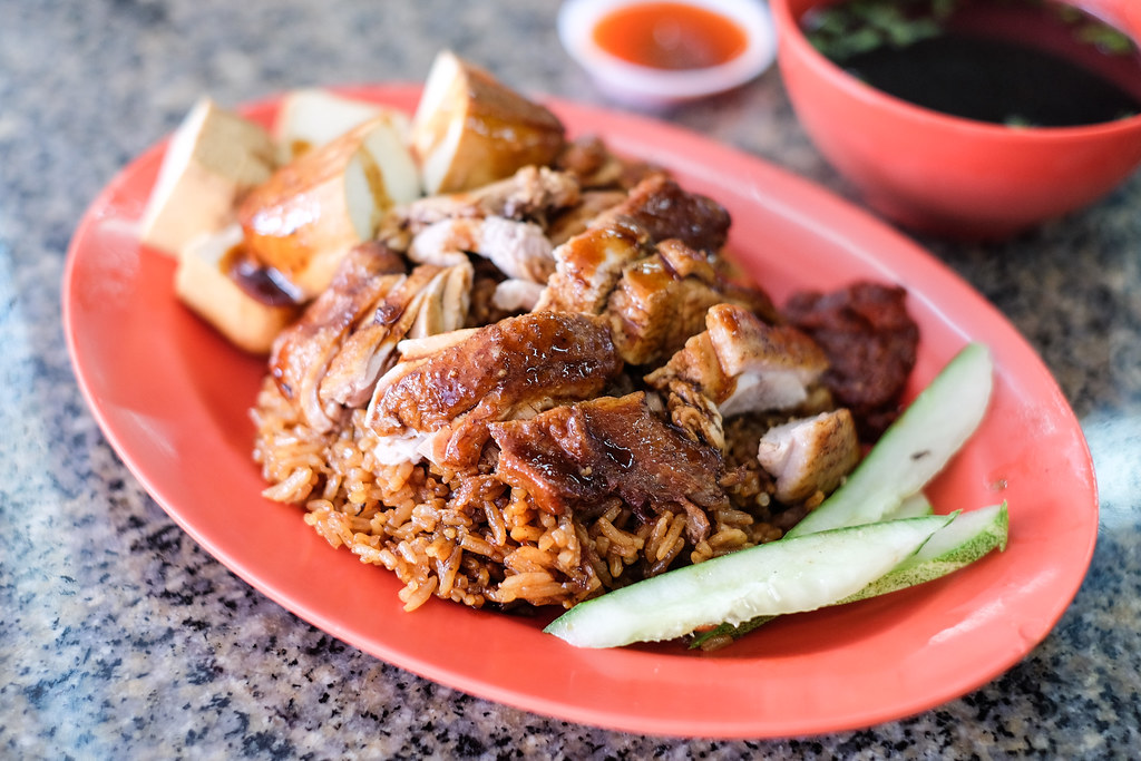 Ah Di Duck Rice Kway Chap's braised duck