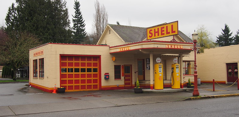 Issaquah Vintage Shell Station