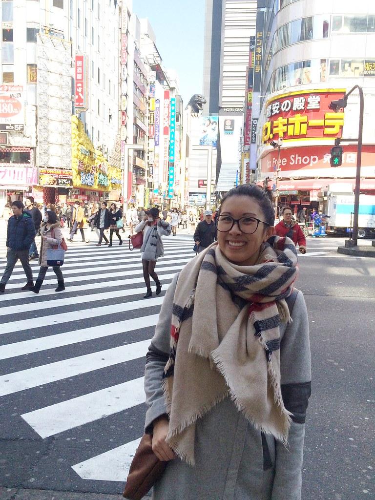 Japan visitng Shinjuku