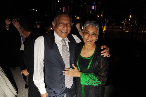 Raj Vattikuti & Padma Vattikuti at PAMM Art of the Party