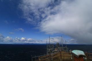 龍飛埼から望む津軽海峡