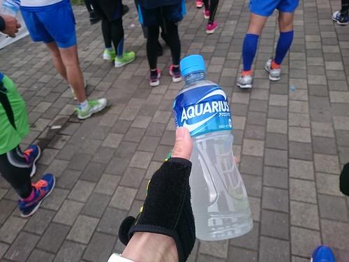 最後の給水