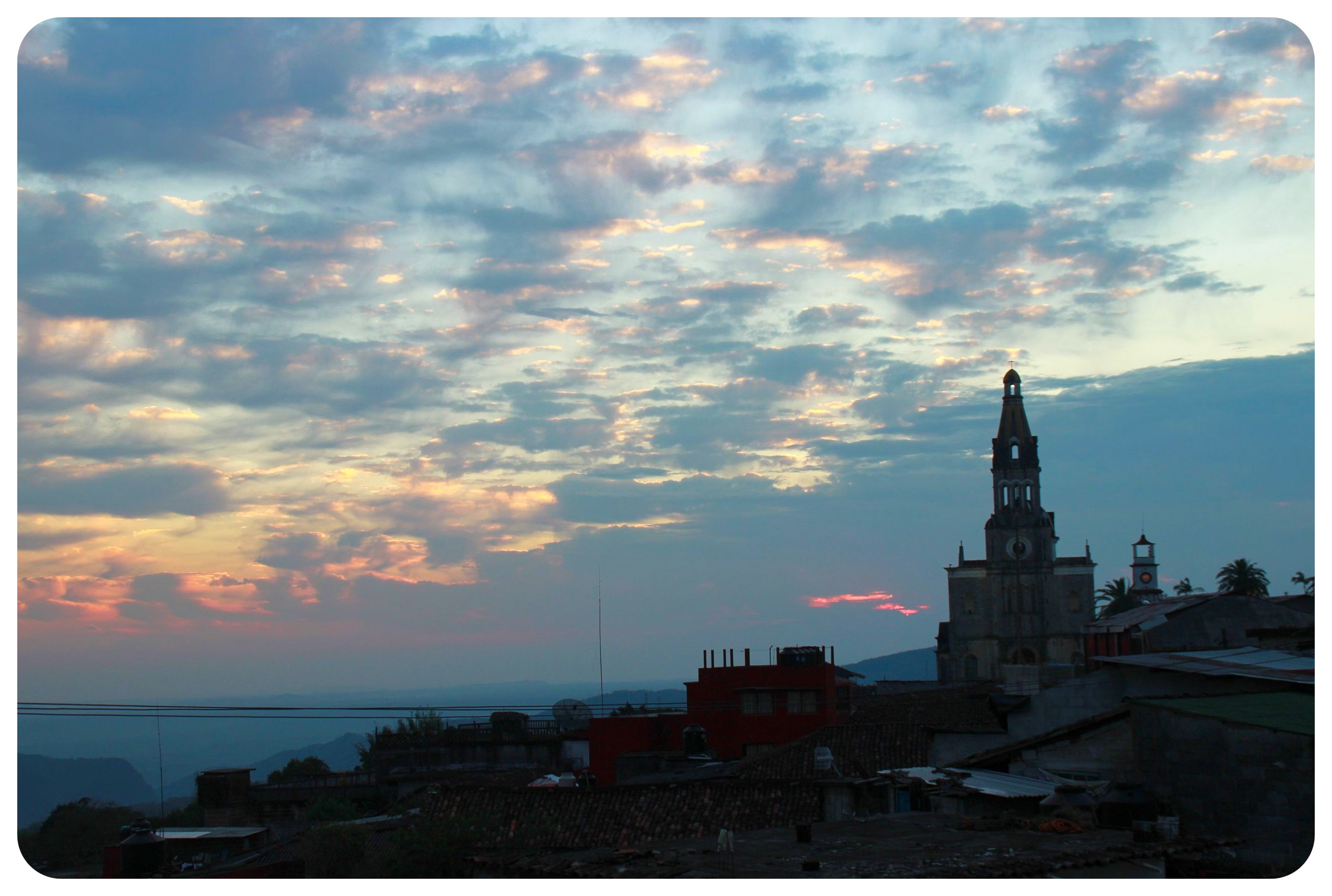 cuetzalan sunrise