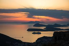 Mount Srd sunset