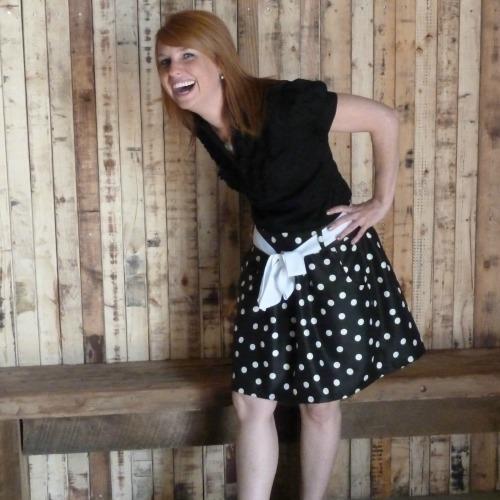 Polka Dot Skirt~Simplicity 2226