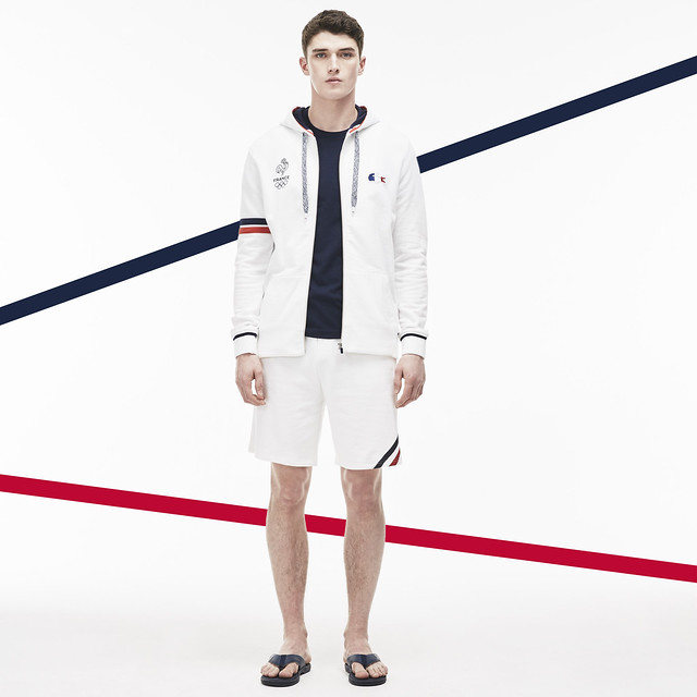 French team Olympics uniforms