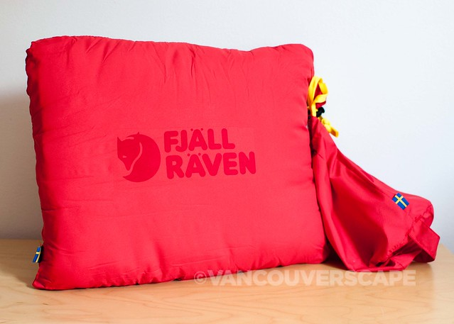 Fjallraven travel pillow