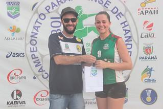 2016 - Final do Campeonato Paranaense de Handebol de Areia