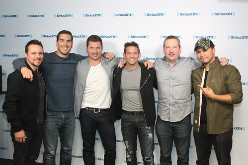 98 Degrees in studio