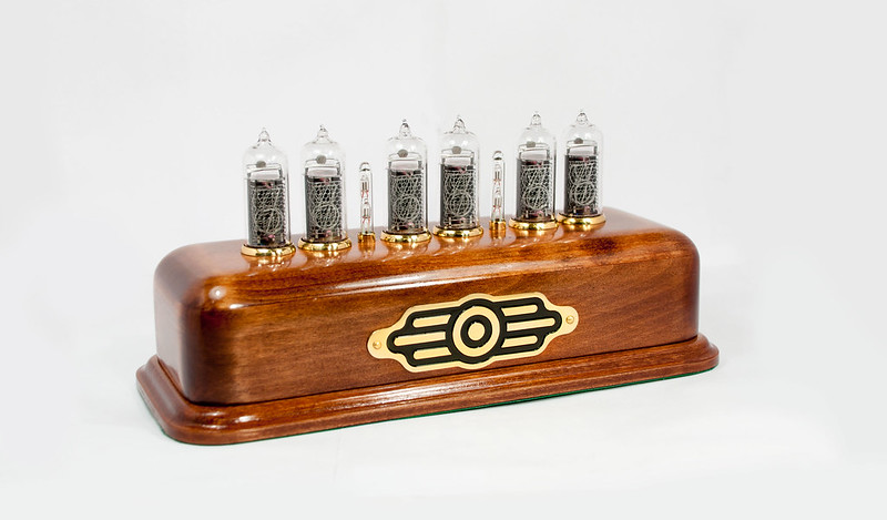 vintage nixie clock