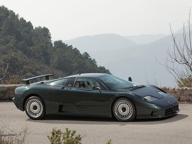 Суперкар Bugatti EB110 GT. 1992 – 1995 годы