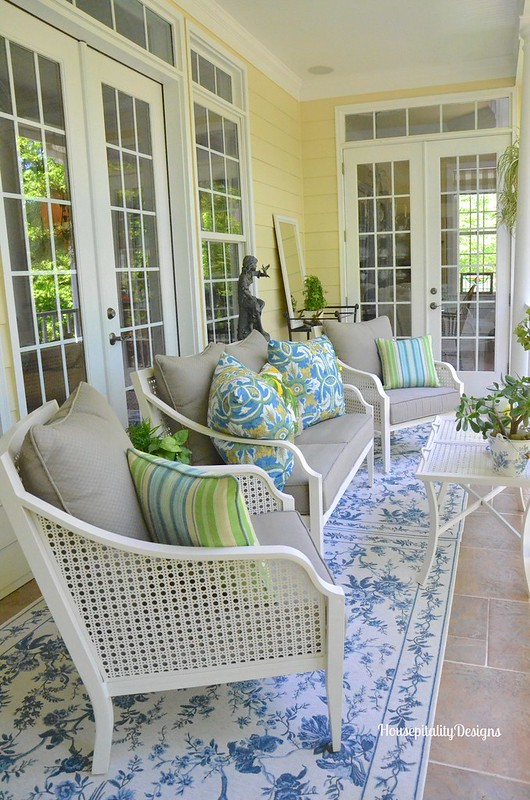 Spring Upper Porch 2016 - Housepitality Designs