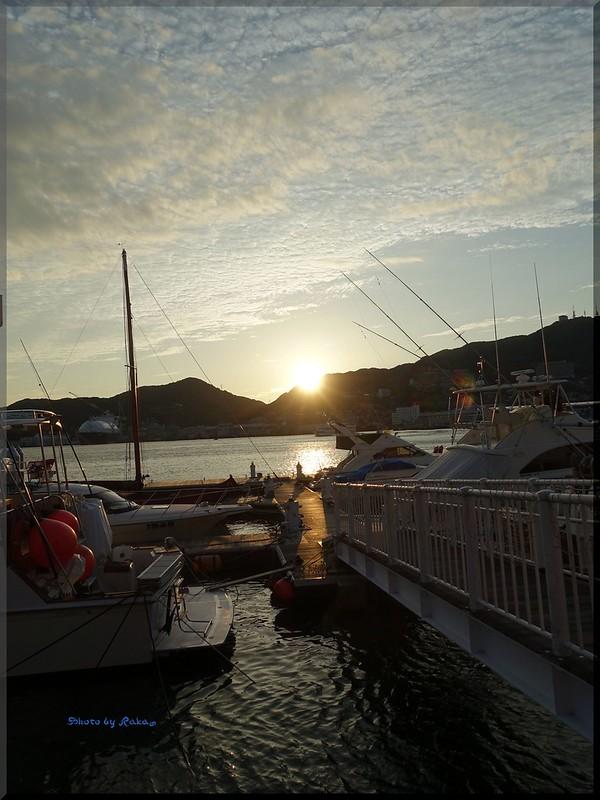 Photo:2015-09-06_T@ka.'s Life Log Book_出島ワーフからの長崎港 夕陽の絶景【長崎】【出島】_02 By:logtaka