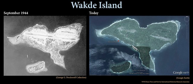 Wakde Island Then and Now
