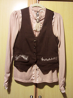 OUTER Axes Femme music vest