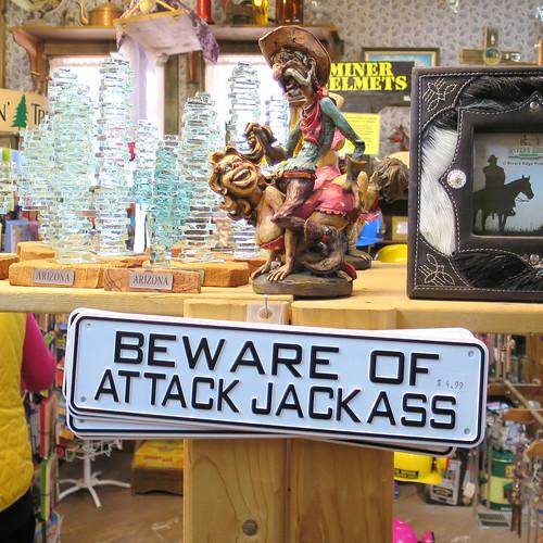 attack jackass