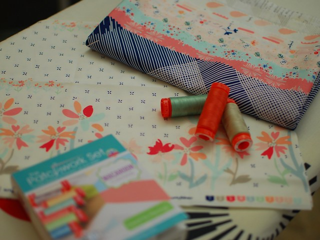 pat sloan paperie with thread