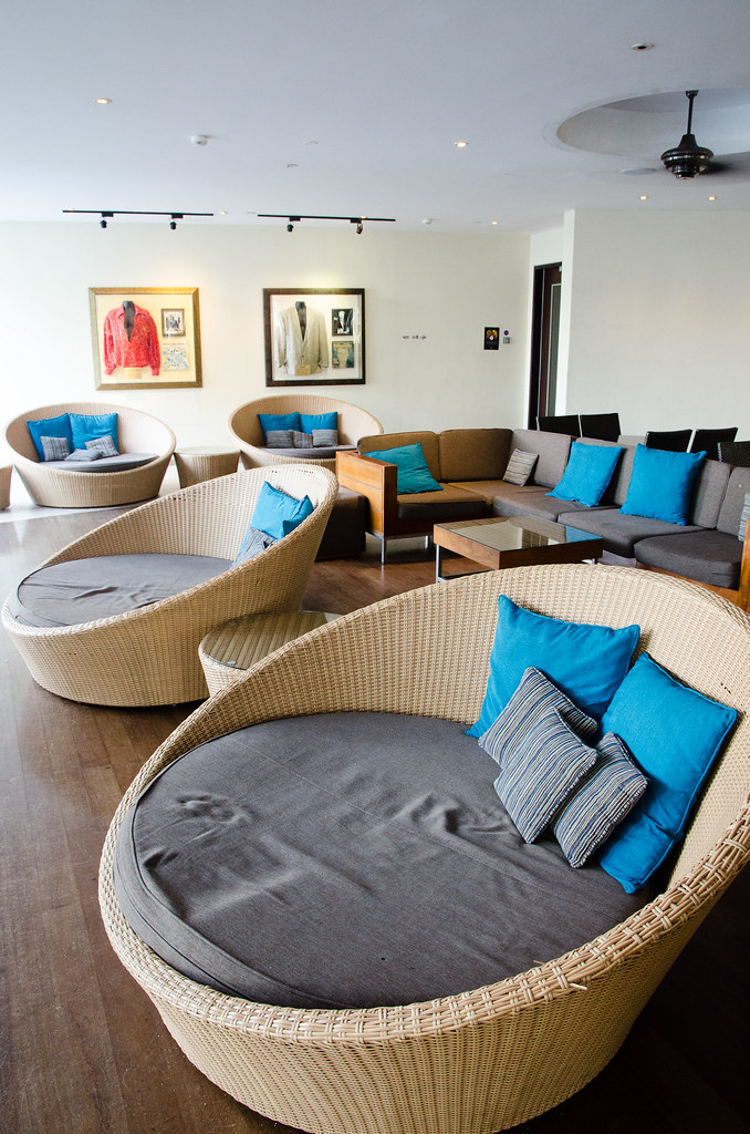 Lobby at Hard Rock Hotel Penang