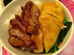 Chicken and Char Siu