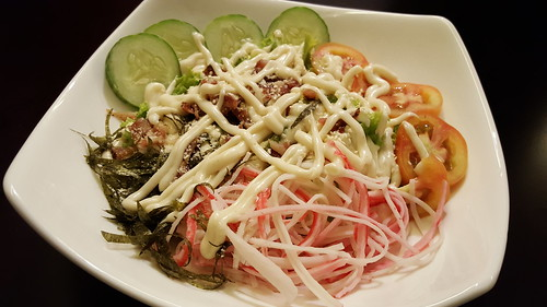 Kani Salad or Crab Stick Salad | Dinner at Koffie Pauze In Its New Home at Roxas Avenue Dormitory - DavaoFoodTrips.com