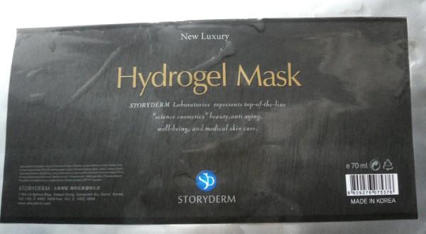 Storyderm Hydrogel mask