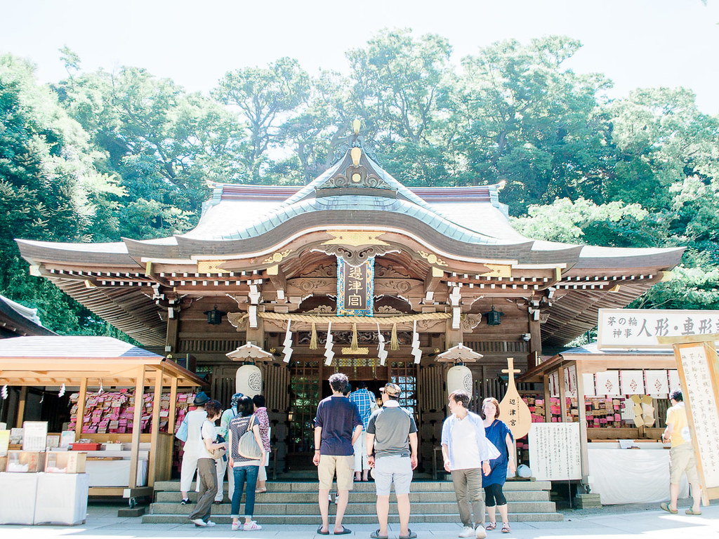 The main shrine of Enoshima
