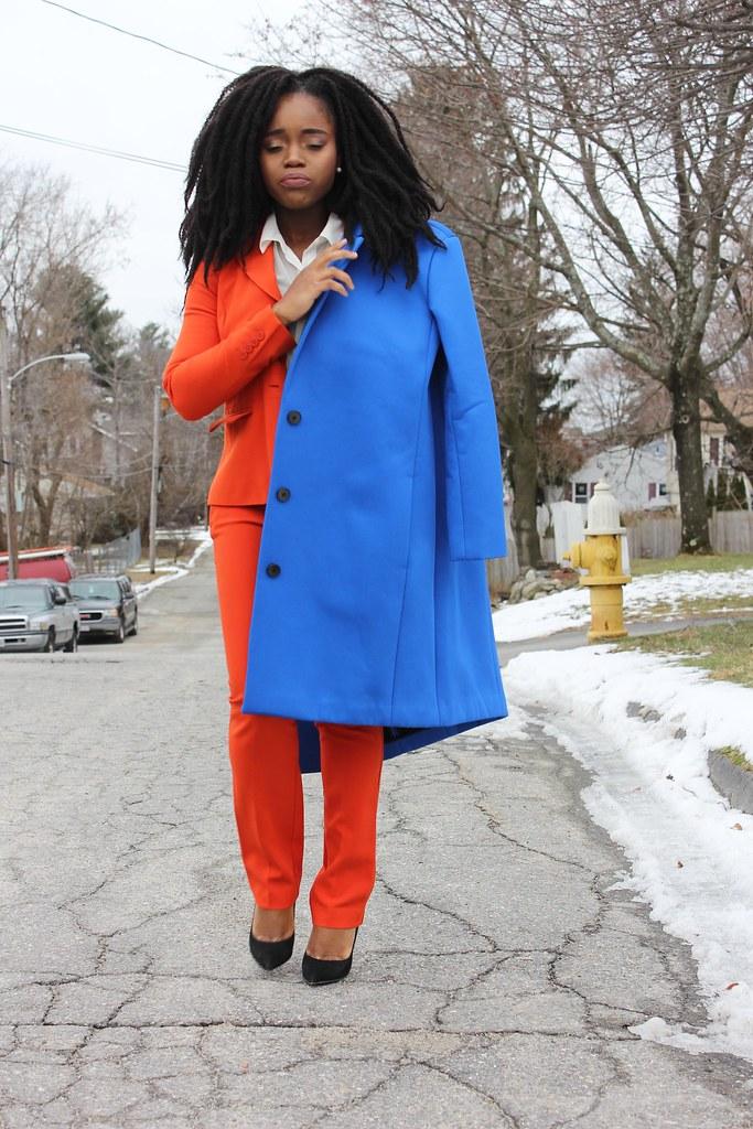 orange suit