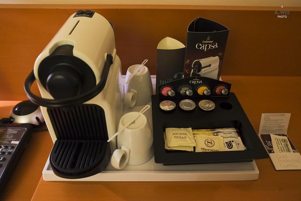 Nespresso machine with fake capsules
