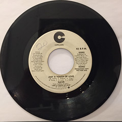 SLAVE:JUST A TOUCH OF LOVE(RECORD SIDE-B)