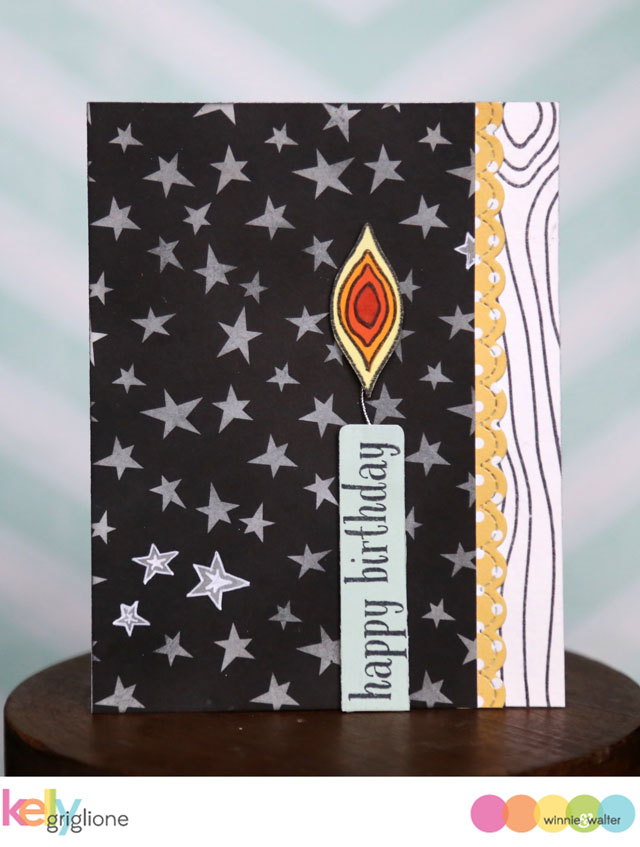 kelly_WED Into the Wood Birthday Candle Birthday Card Winnie   Walter_web