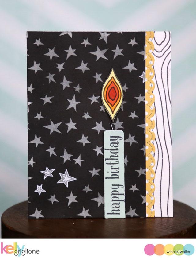 kelly_WED Into the Wood Birthday Candle Birthday Card Winnie   Walter_web