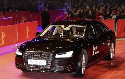 Безпілотний Audi підвіз акторів до червоної доріжки Берлінале