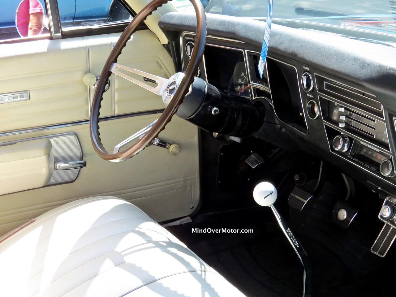 1968 Chevrolet Chevelle SS396 Interior