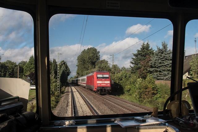03.09.2006 Osnabrück Hbf Bahnhofsfest. DB 101 mit IC Osnabrück